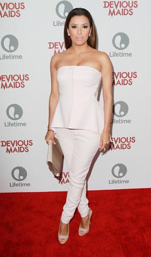 Eva Longoria at Devious Maids event