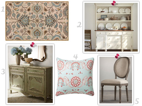 Get the look: Whimsical French chateau style