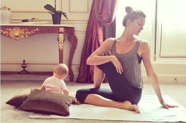 Gisele Bündchen & Vivian Brady get fit