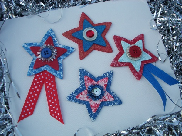 Fourth of July magnets