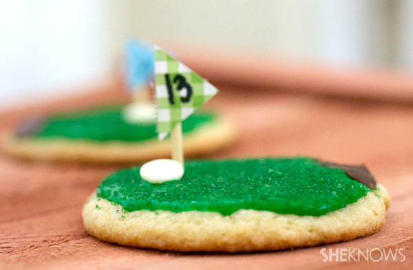 Cookies for golf lovers