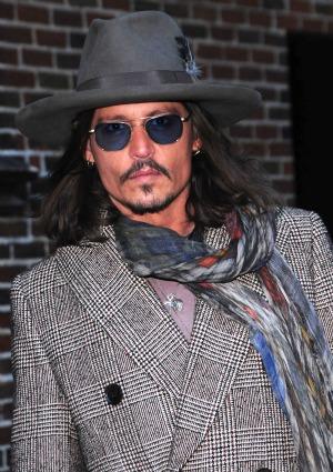 Johnny Depp talks split