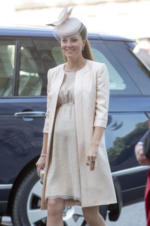 Kate Middleton At Coronation Celebration See The Bump