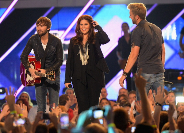 Lady Antebellum at the 2013 CMT Music Awards
