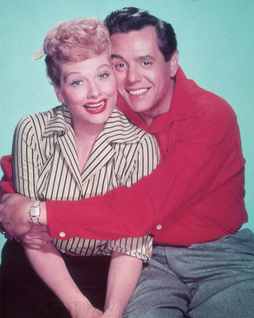 Lucy and Ricky -- I Love Lucy