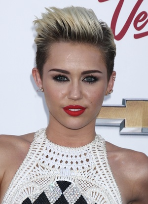 Miley Cyrus can't stop