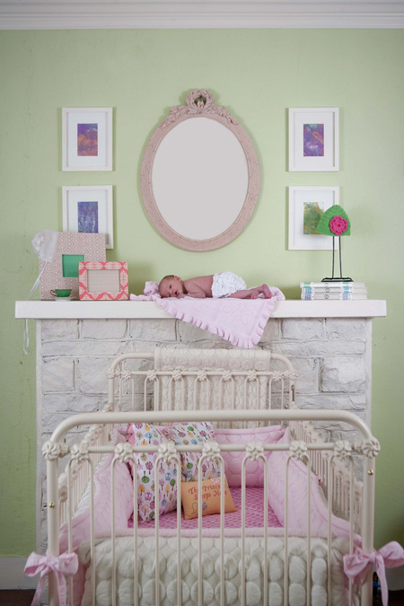 Nursery from The Little Princess Diares