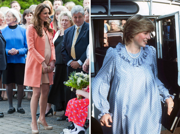 Special event style -- Kate Middleton and Princess Diana