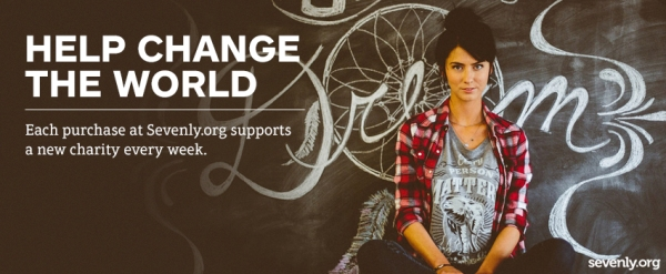 Change the world $7 and 7 days at a time