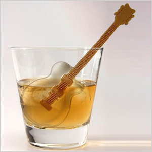 Guitar ice cube