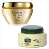 Kerastase Elixir Masque,L'Oreal Natures Therapy Mega Moisture Nurturing Crème