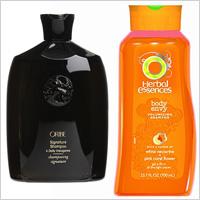 Oribe Signature Shampoo,Herbal Essences Body Envy