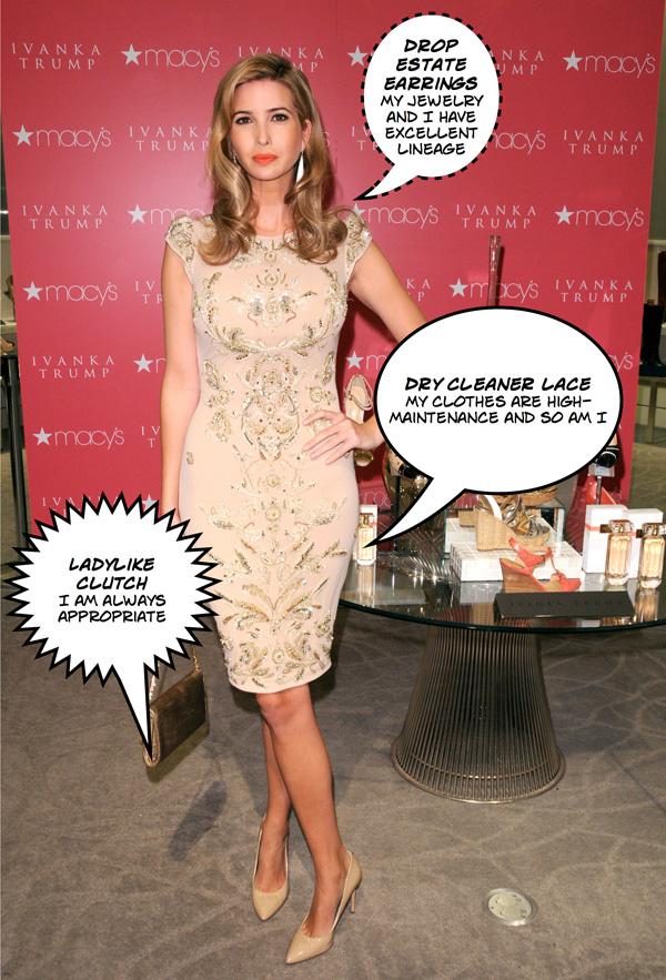 Park Avenue princess: Ivanka Trump