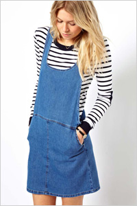 ASOS Denim Pinafore