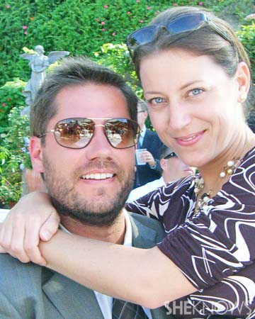 Tonya Wertman with her husband