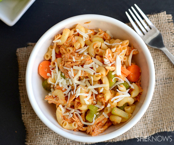 Buffalo chicken pasta salad |SheKnows.com