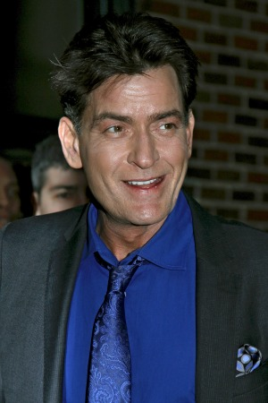 Charlie Sheen searches for 'Nessie'