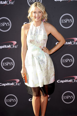 Maria Sharapova at the ESPYs