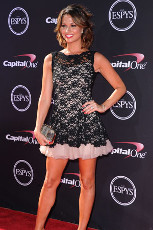 Melissa Rycroft at the ESPYs
