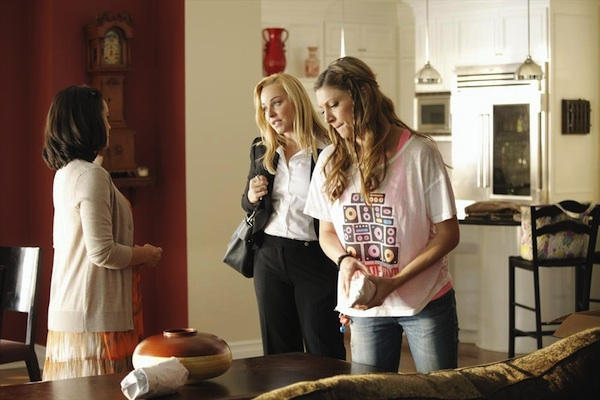 Three's a crowd with Joss, Alex and Sally on Mistresses