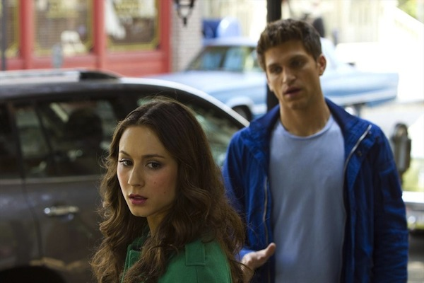 Spencer and Toby in Pretty Little Liars