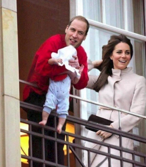 Will and Kate Royal Baby Michael Jackson Meme