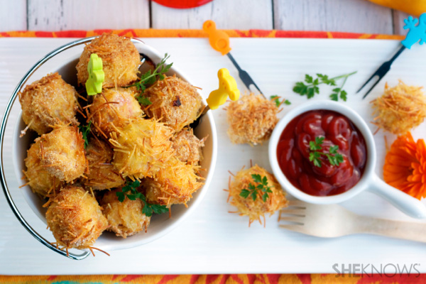 Mom's solution: healthy nuggets!
