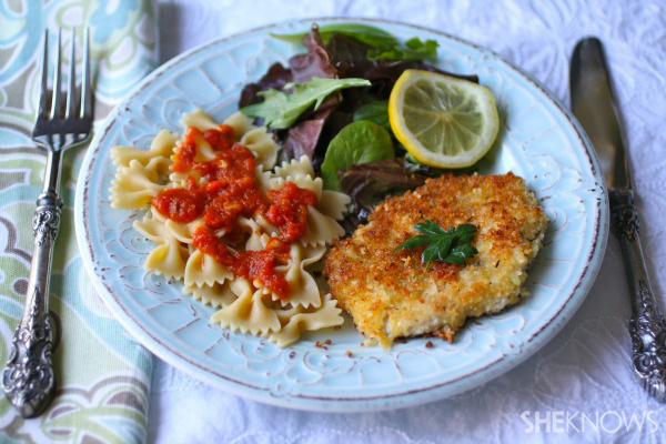 Sunday dinner: Pork Milanese