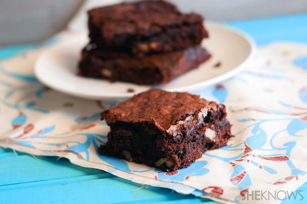 A brownie that's actually healthy