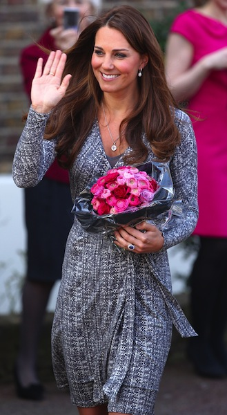 The Duchess of Cambridge pregnant