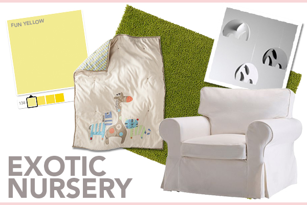 Exotic nursery for girls | SheKnows.com