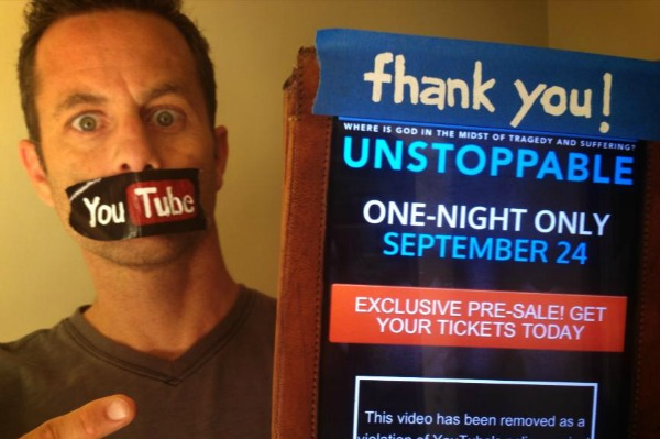 kirk cameron unstoppable banned