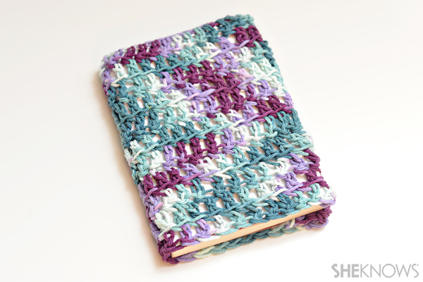 Book Cover Crochet Instructions : Homemade book covers for kids