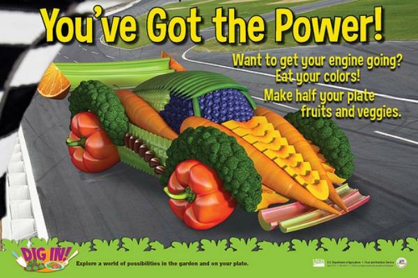 USDA takes a stab at making nutrition fun