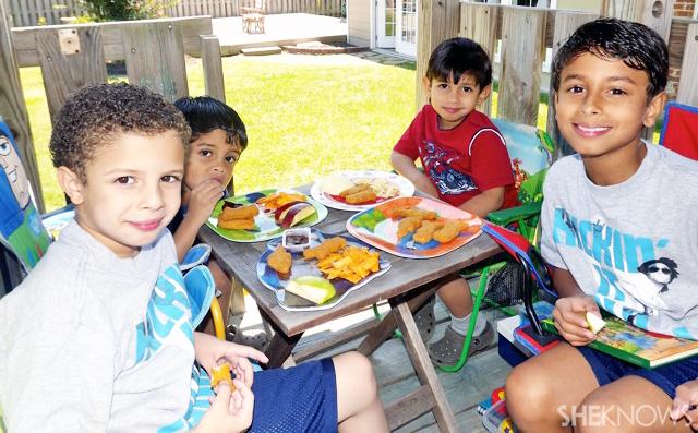 Homeschool lunch