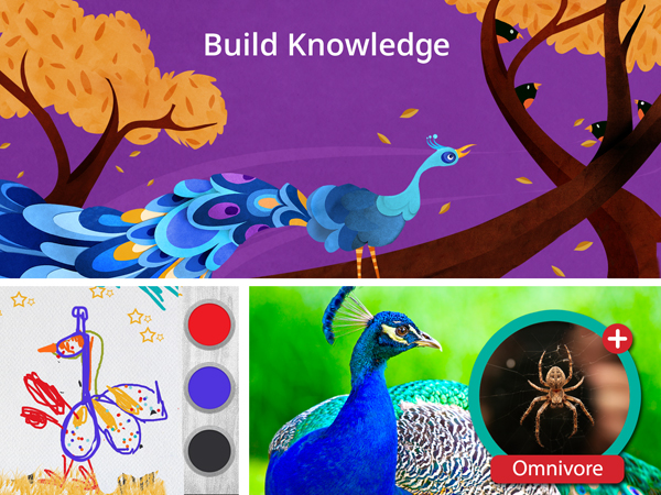 Interactive educational iPad apps