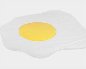 Sunny side up play mat