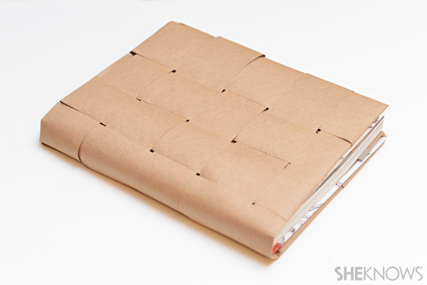 Long Brown Paper Roll Table Cover