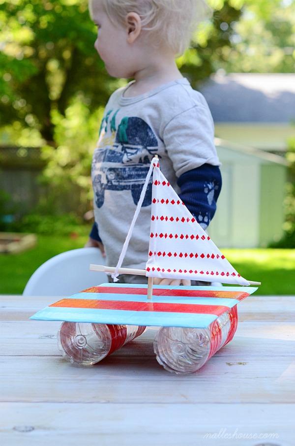 DIY-Water-Bottle-Boat