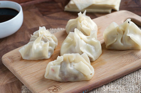 Steamed Dumplings Recipe — Dishmaps