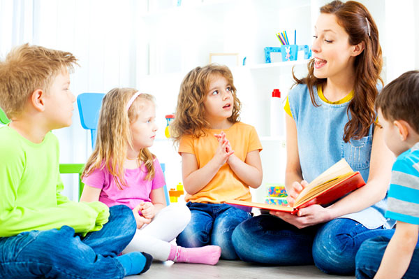 Participate in story time