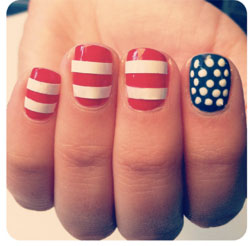 Fourth of July nail designs