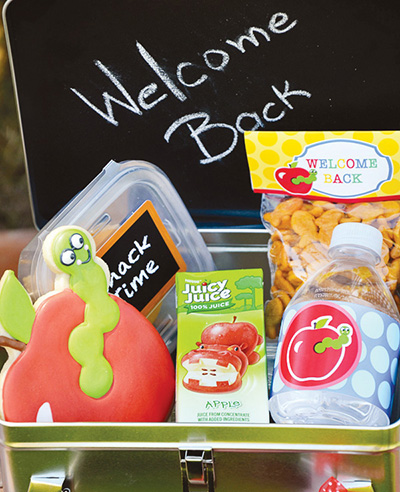 back to school party lunch boxes