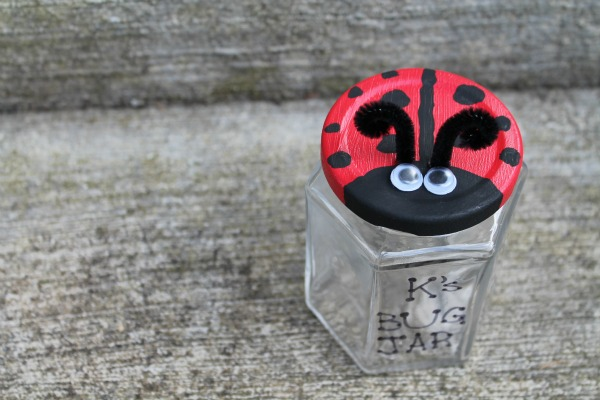 Ladybug Bug Jar
