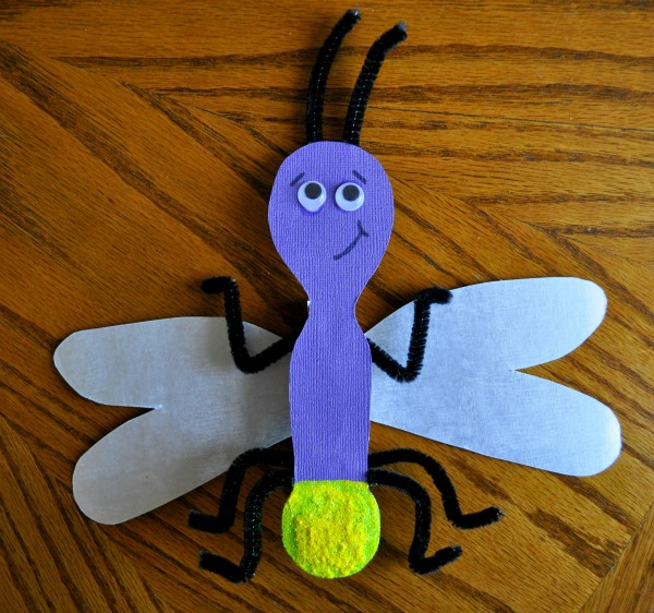 Bug crafts to do with your preschooler