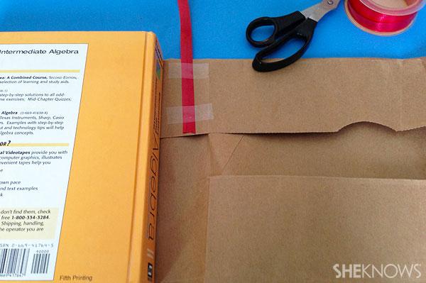 Step 5 add ribbon bookmark