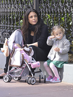 Bethenny Frankel with daughter Bryn