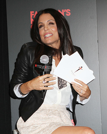 Bethenny Frankel hosting an event
