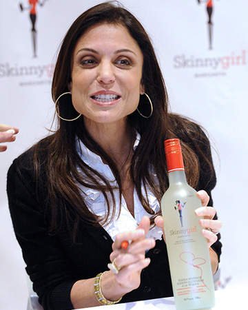 Bethenny Frankel promoting Skinnygirl Cocktails