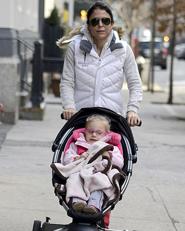 Bethenny Frankel with daughter Bryn